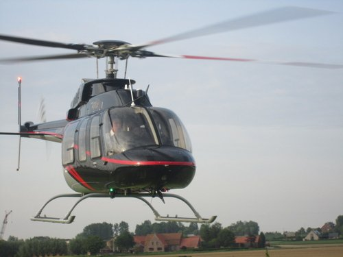 luchtdoop helikopter west-vlaanderen